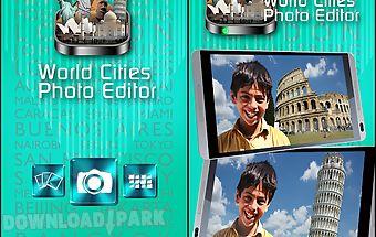 World cities photo editor