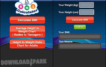 Body mass index calculator - bmi..