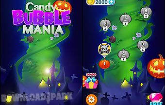 Candy bubble mania: happy pumpki..