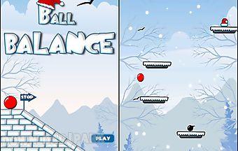 Christmas ball balance