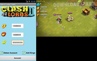 Clash of lords 2 cheats unoffici..