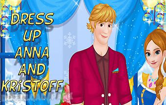 Dress up anna and kristoff on a ..