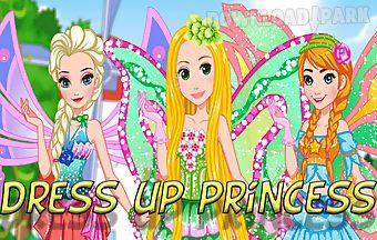 Dress up princess visit fairies