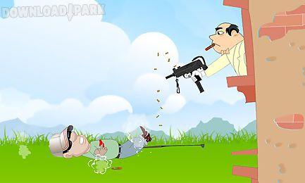 golf gunfire-sniper shooting