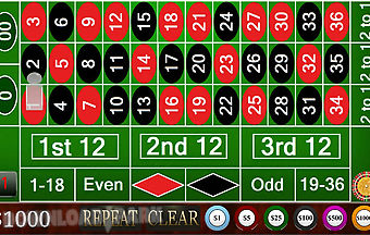Harwin apps roulette free