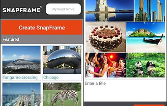 Snapframe - create beautiful pho..