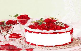 Birthday photo frame pic