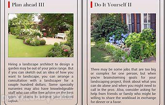 Cheap landscape gardening