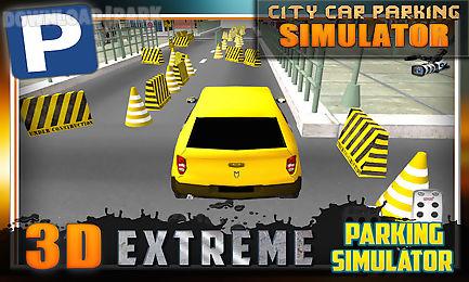 city car parking simulator 3d