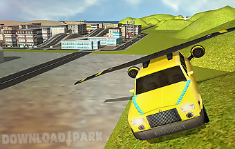 Flying limo car simulator