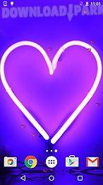 neon hearts