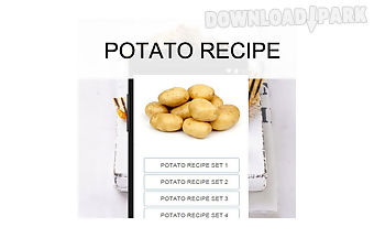 Potato recipes food
