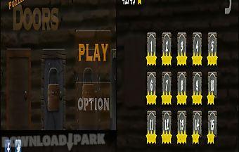 Puzzle door