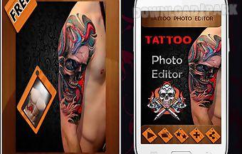 Tattoo photo editor