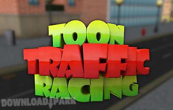 Toon traffic speed racing