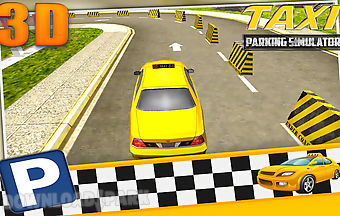 City taxi parking simulator 3d