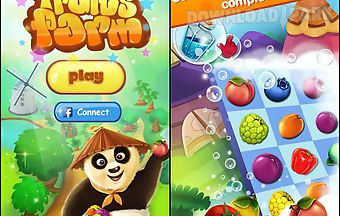 Panda and fruits farm