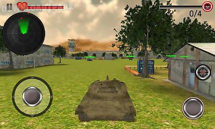world war tank battle 3d