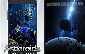 Asteroids live wallpaper