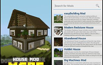 House mod for mcpe!