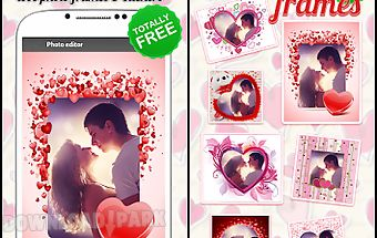 Love photo frames & stickers