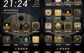 Metal theme - zero launcher