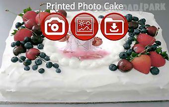 Printed photo cake