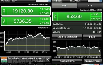 Bse nse live stock market news Android App free download in Apk