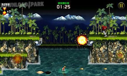 Contra evolution Android Game free download in Apk