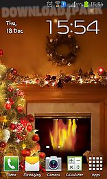 fireplace new year 2015