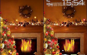 Fireplace new year 2015