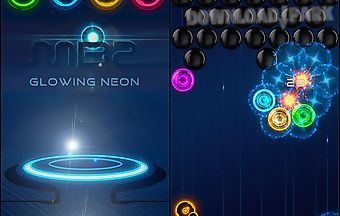 Magnetic balls 2: glowing neon b..