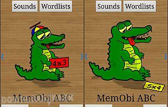 Memobi - abc and wordmemory