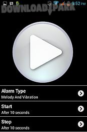 phone alarm dont touch my phone app