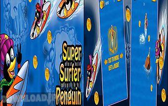 Super surfer penguin