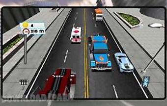 Traffic racer freeway