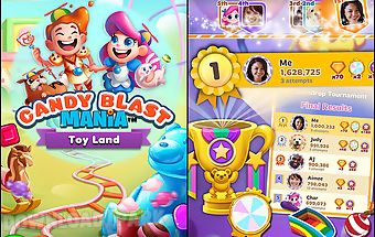 Candy blast mania: toy land