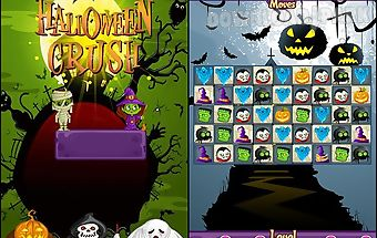 Halloween crush: match 3 game