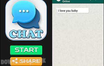 Chat & sms prank