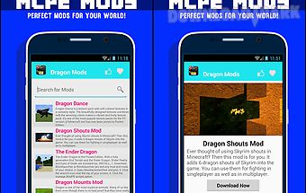 Dragon mod for mcpe!