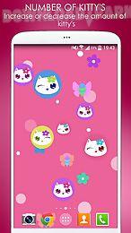 lily kitty fun live wallpaper
