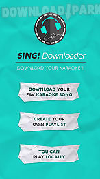 Sing downloader for smule Android App free download in Apk