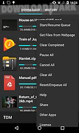 Turbo download manager Android App free download in Apk