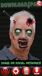zombie booth photo editor