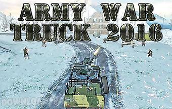 Army war truck 2016