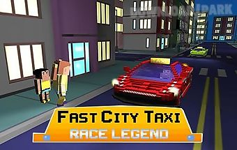 Fast city taxi race legend