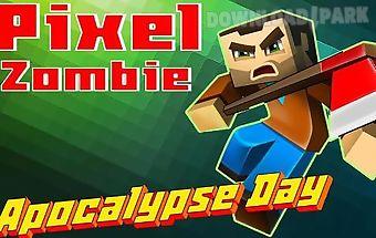 Pixel zombie: apocalypse day 3d