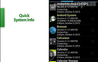 Quick system info