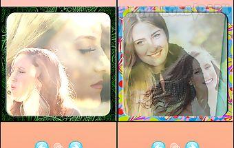 Photo blend camera editor