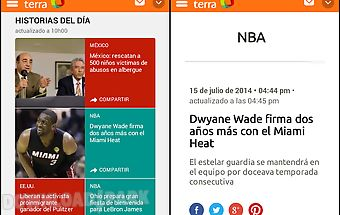 Terra: live news & sports